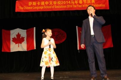 21.女儿与父亲携手合唱《中国味道》
