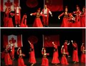 22.老师们的精彩民族舞蹈《丰收的旋律》